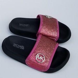 Michael Kors Toddler Pink Slides Sandals Size 12